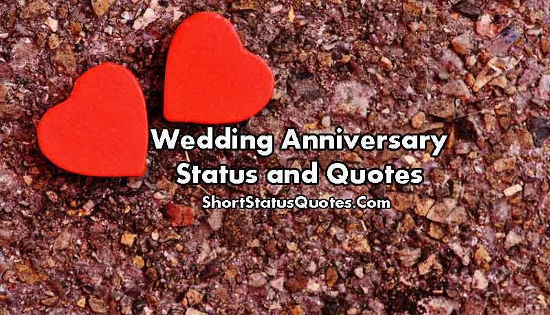 250 Best Wedding Anniversary Status Happy Anniversary Wishes