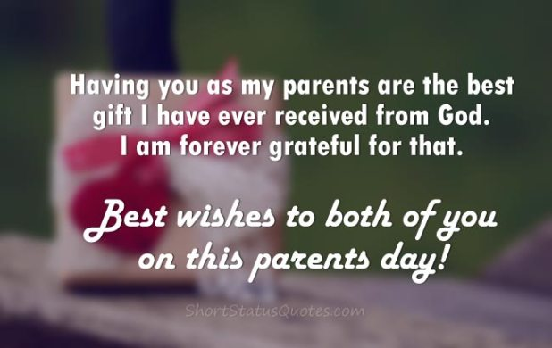 parents day wishes caption
