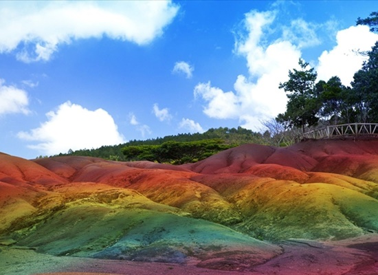 Coloured Earths of Chamarel