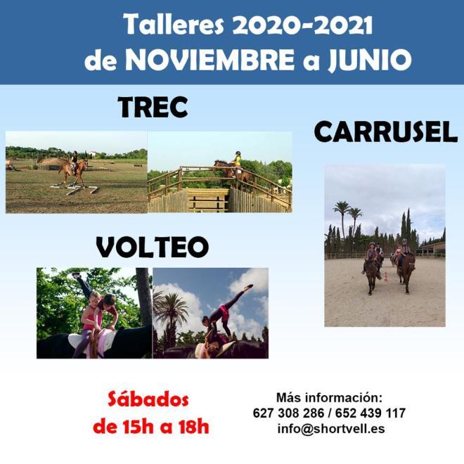 Curso 2020-2021: talleres sábados tarde en S'Hort Vell