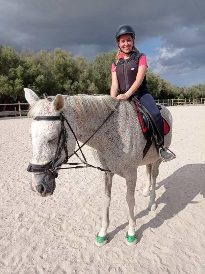 Jornada de Prácticas equitación Postgrado Intervenciones Asistidas con Animales UIB