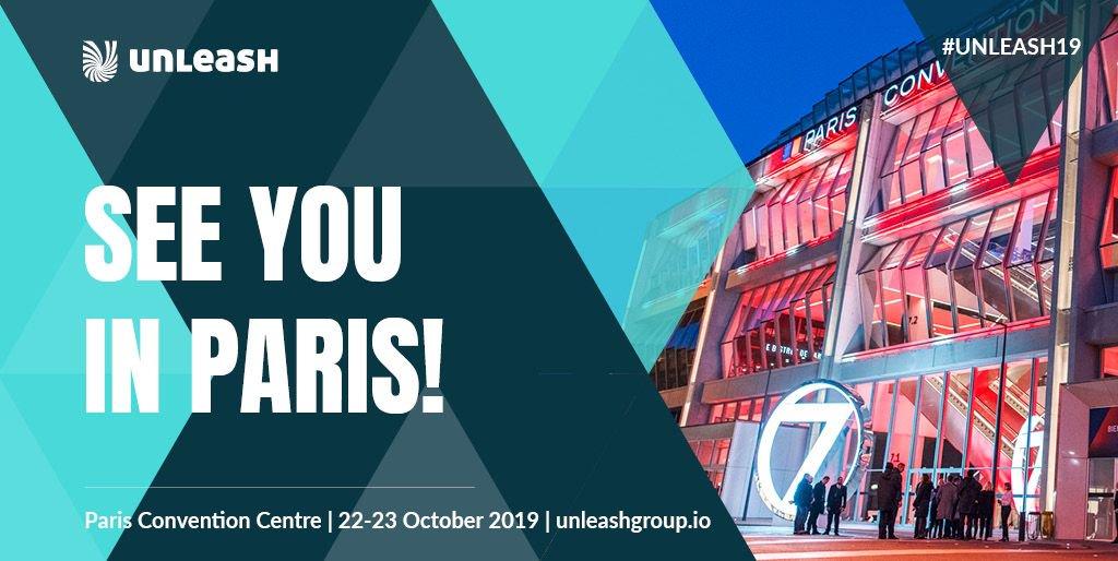 Shortways participe au Unleash World Paris le 22 et 23 Octobre 2019