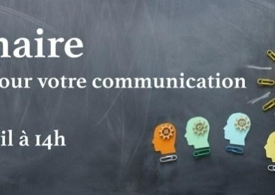 Webinaire – Les outils pour votre communication SIRH