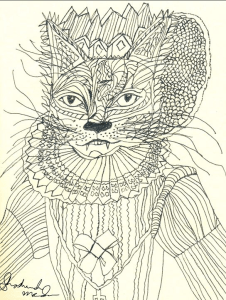 Queen of Cats by shoshanah marohn