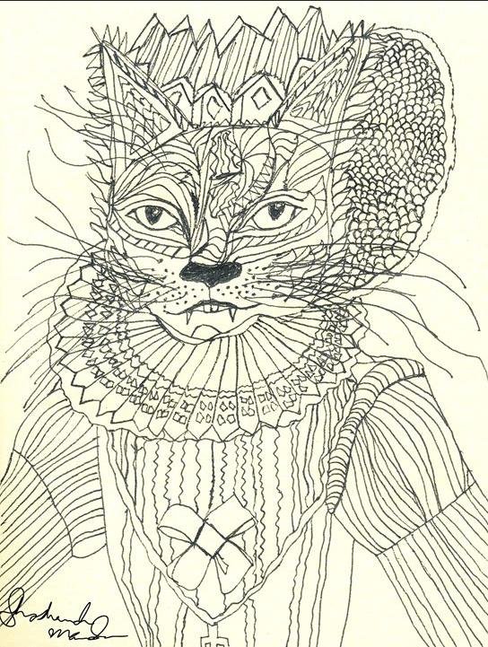 Queen of Cats by shoshanah marohn