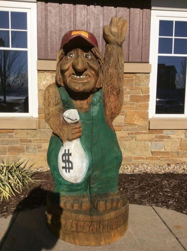 farmers bank troll