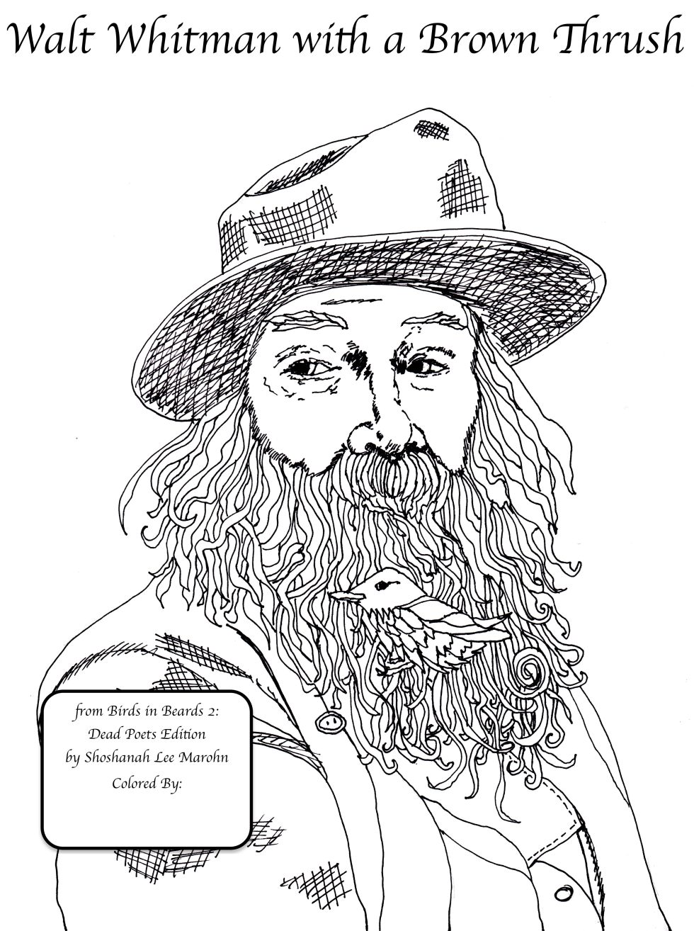 Walt Whitman by Shoshanah Marohn