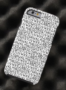 alphabet phone case Z