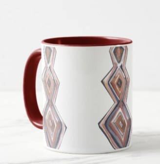 diamonds mug Z