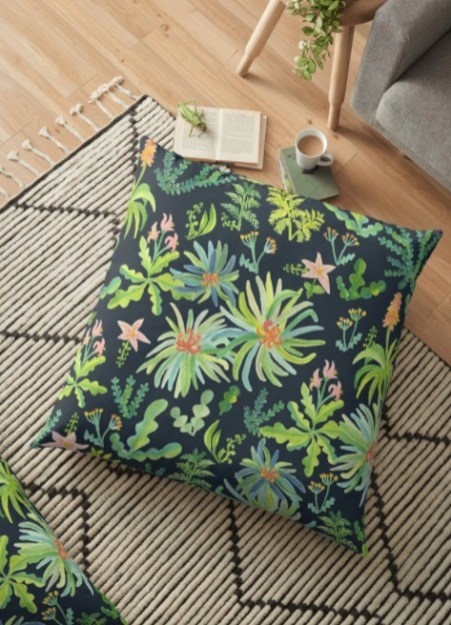 jungle pillow RB