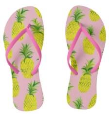 pineapple flip flops Z