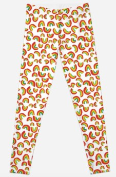 rainbow leggings RB
