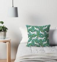 zebra pattern pillow RB