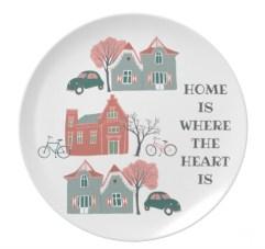 home heart plate Z