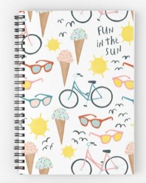 ice cream notebook RB