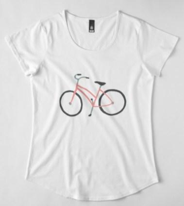 pink bike shirt RB
