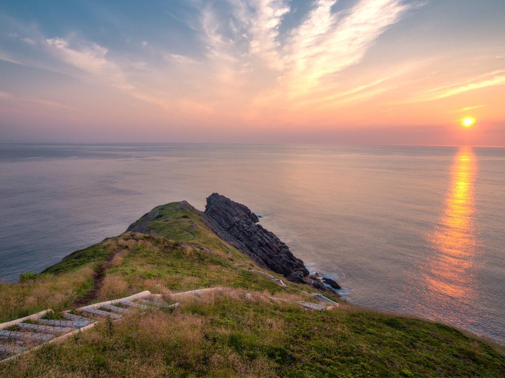 Sunrise-in-Newfoundland-Canada