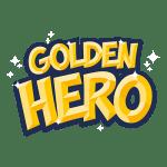 GoldenHero ゲーミング ロゴ