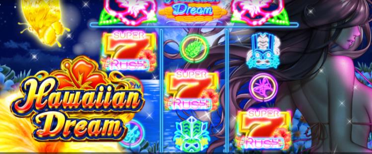 ビデオスロットHawaiian Dream rtpやスペックの解説