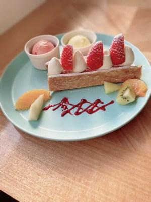 【王寺町】10月14日にオープンした『カフェアンドケーキラボ Mou(ムー)』さんのケーキが美味しくて映える♪