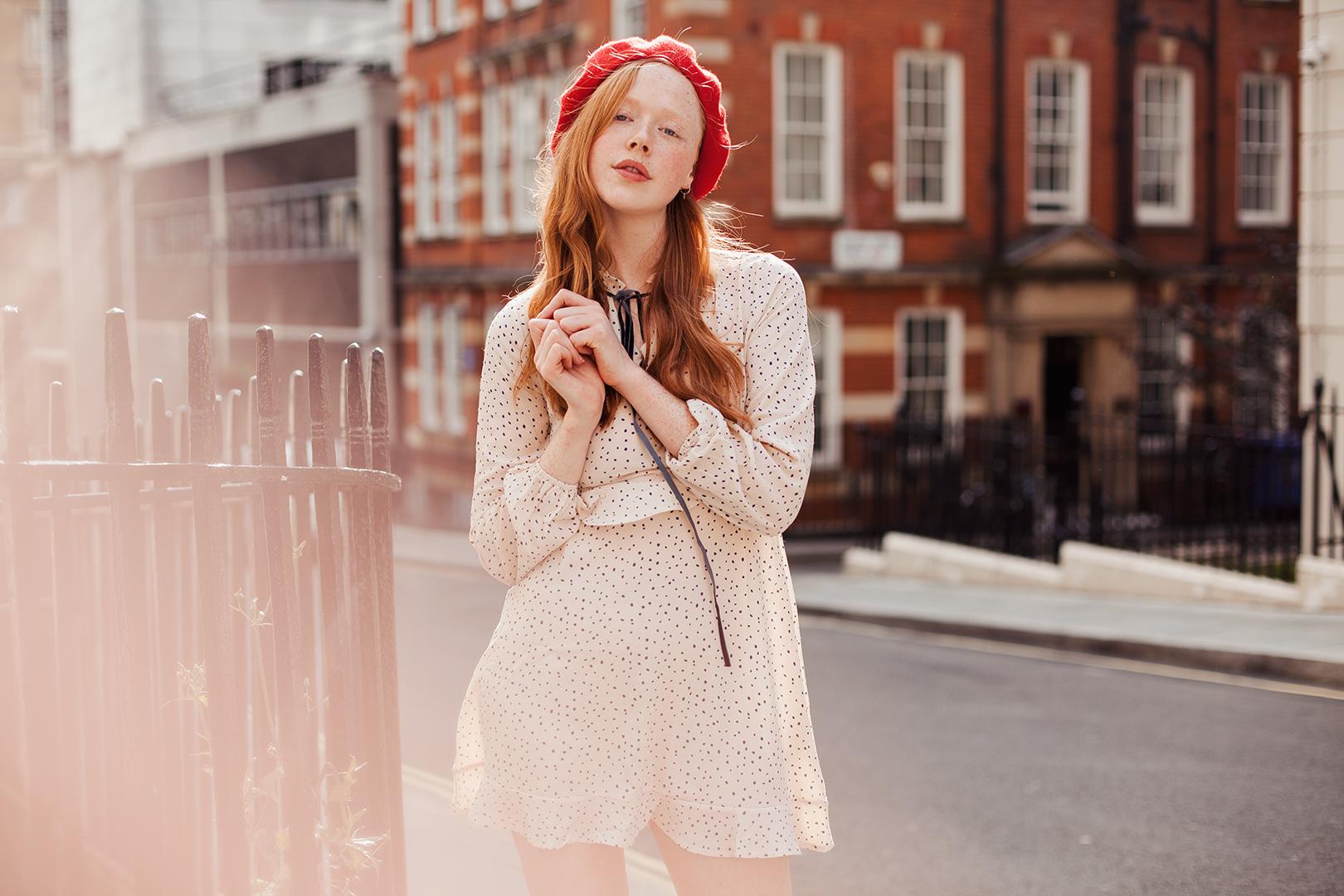 Redhead fashion blogger Holly Rebecca White by Ailera Stone