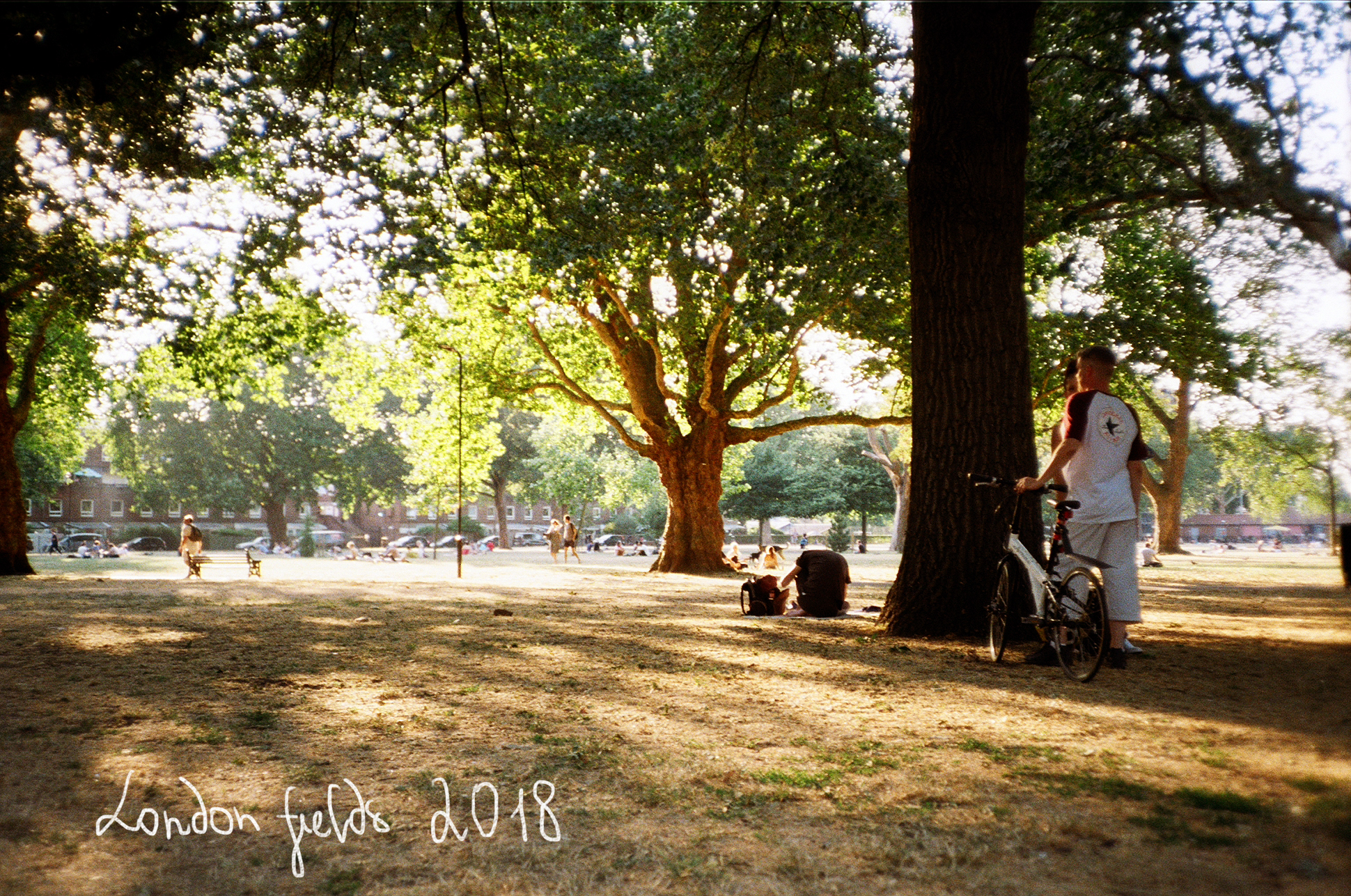 London fields visual diary on 35mm film by Ailera Stone