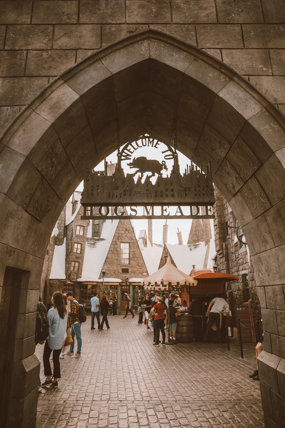 California Harry Potter World Hogsmeade by photographer Ailera Stone