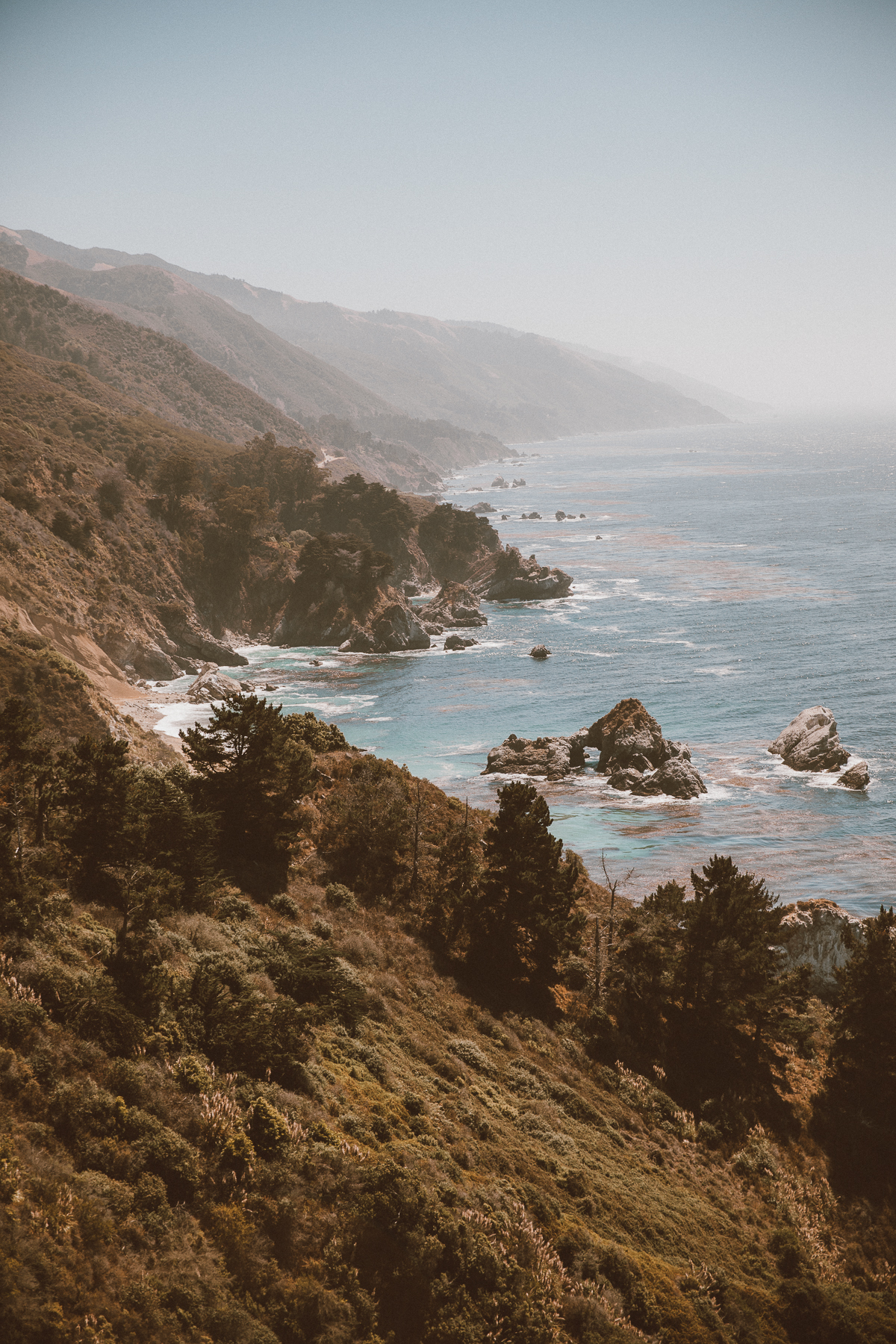 California Big Sur Road trip by photographer Ailera Stone