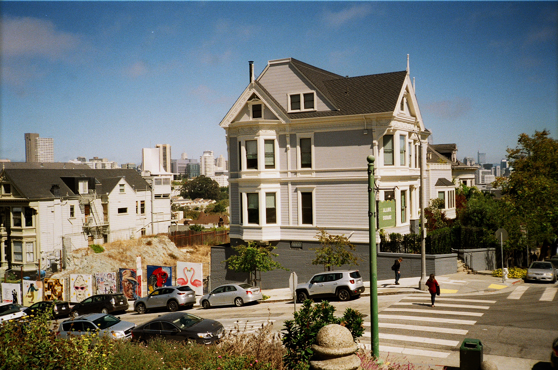 San Francisco on film by London based photographer Ailera Stone