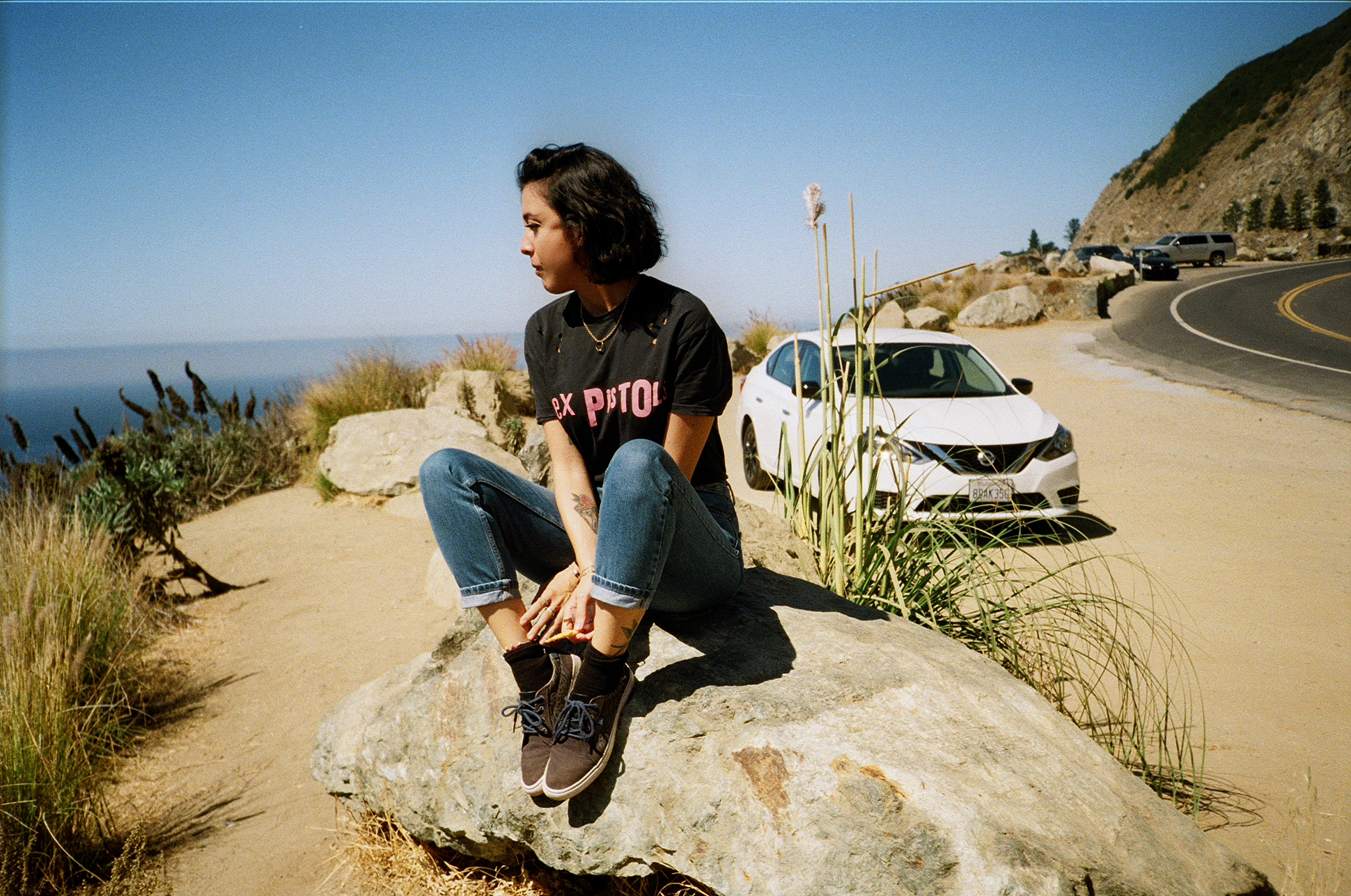 California highway one roadtrip 35mm film diary by London based photographer Ailera Stone