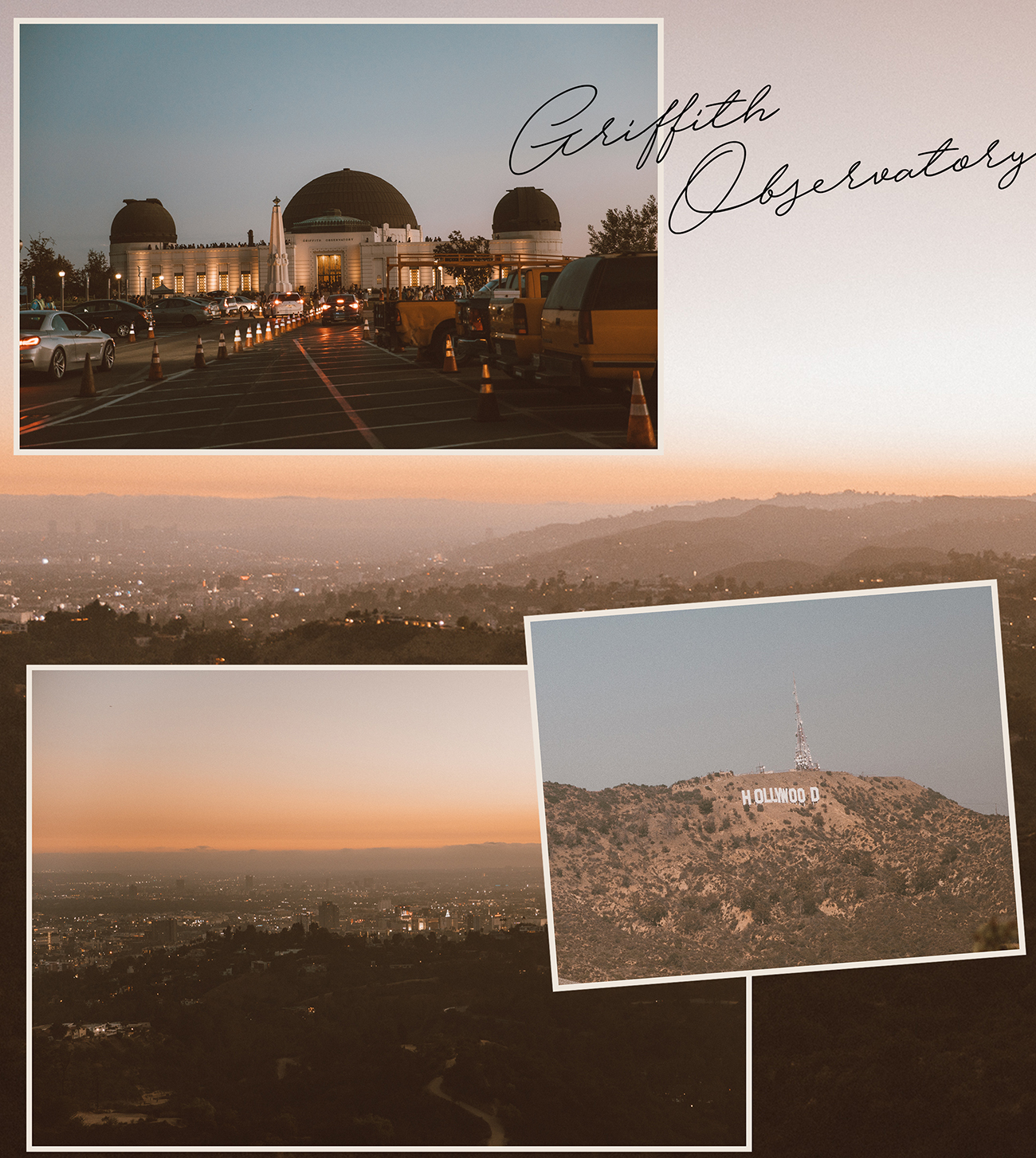 California Road trip Griffith Observatory by photographer Ailera Stone