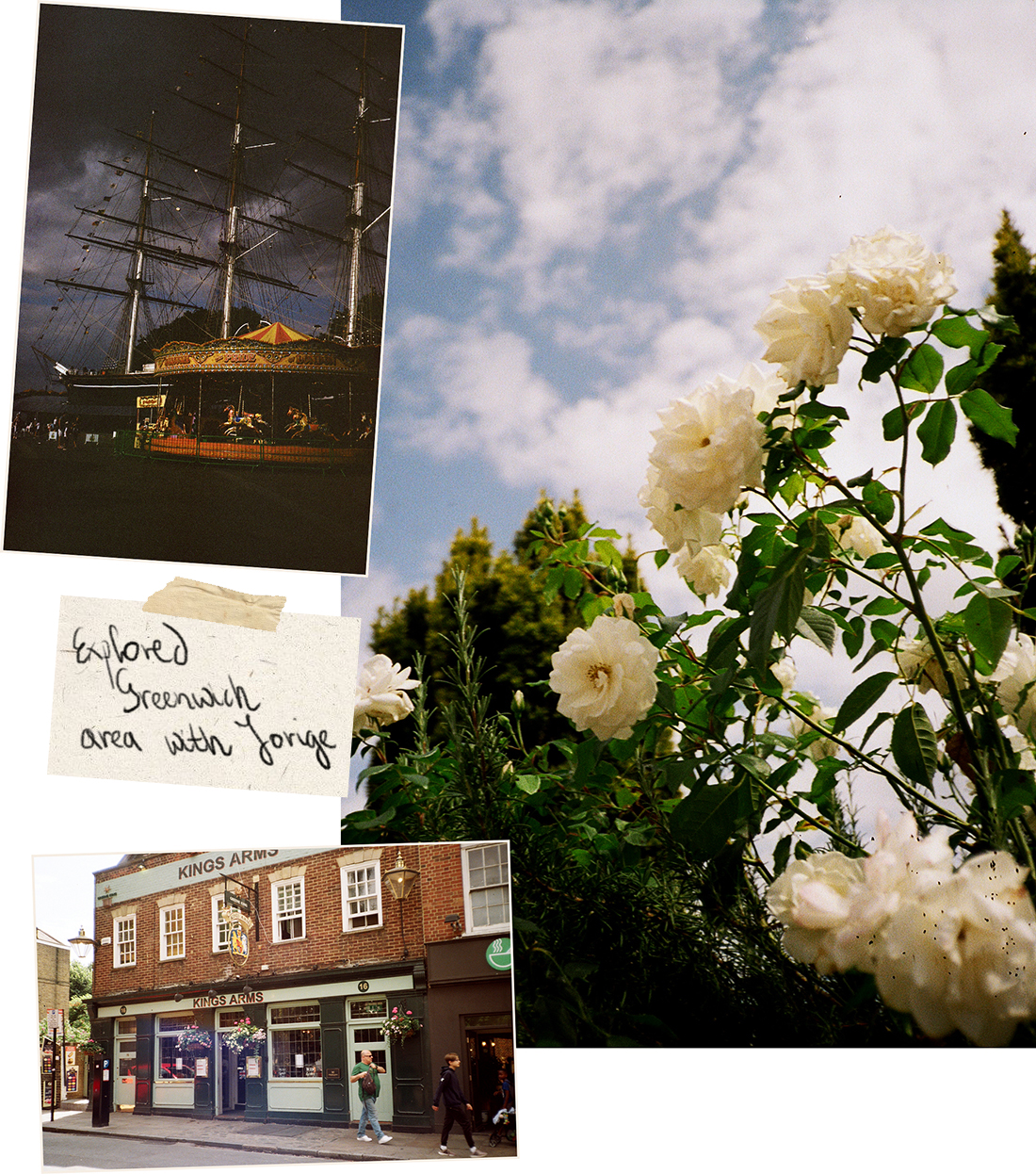 Spring / Summer 2019 35mm film diary by London based photographer Ailera Stone
