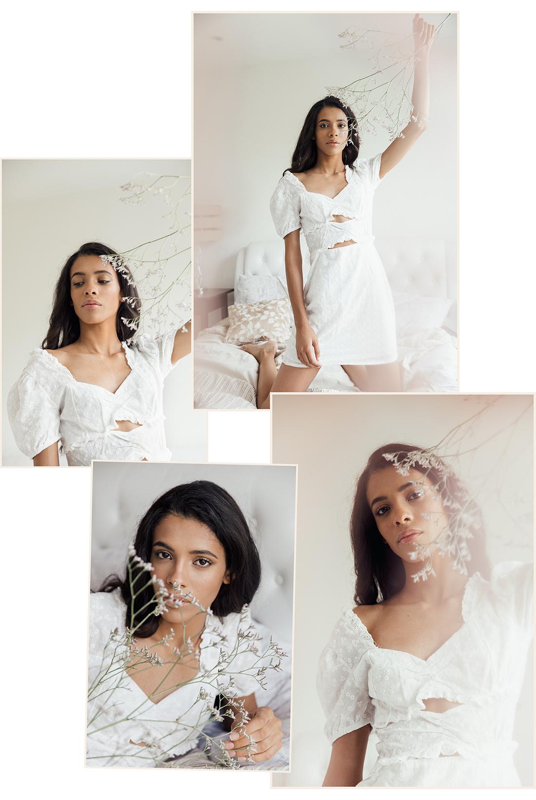 Soft dreamy collage of Beatriz @ PRM agency by Ailera Stone