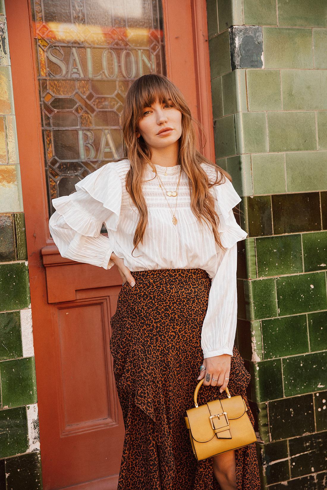 Blogger fashion photoshoot of Sara Waiste by London photographer Ailera Stone