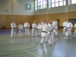 Training mit Ian Abernethy 2009