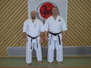 Ian Abernethy und Michael 2009