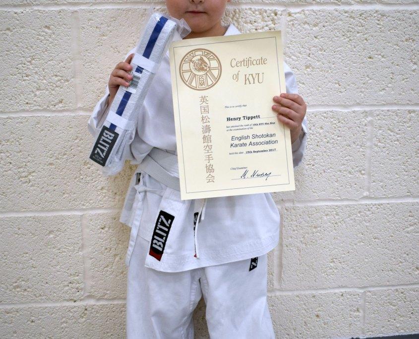 Henry Certificate