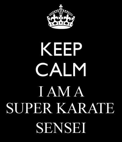 karate sensei