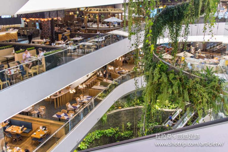 泰國曼谷 The EmQuartier 百貨,Uniqlo,359,有如一座空中森林花園的大型購物商場 ...