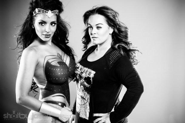 Tehmeena Afzal as Wonder Woman