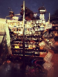 The trinket seller, a peddler selling jewelry on the streets of #Mumbai #iphoneography #photography