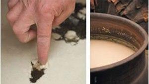 有機玄米くろ酢の発酵作用がすすむ