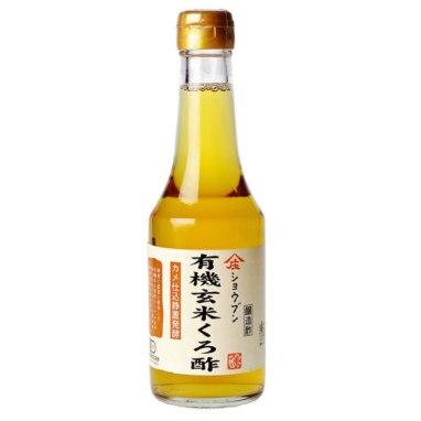 庄分酢の有機玄米くろ酢