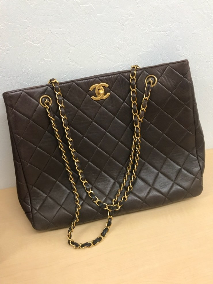 CHANEL チェーン トートバッグ