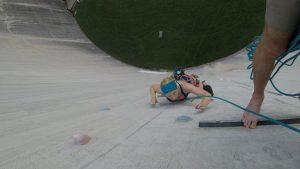 second pitch climbing luzzone