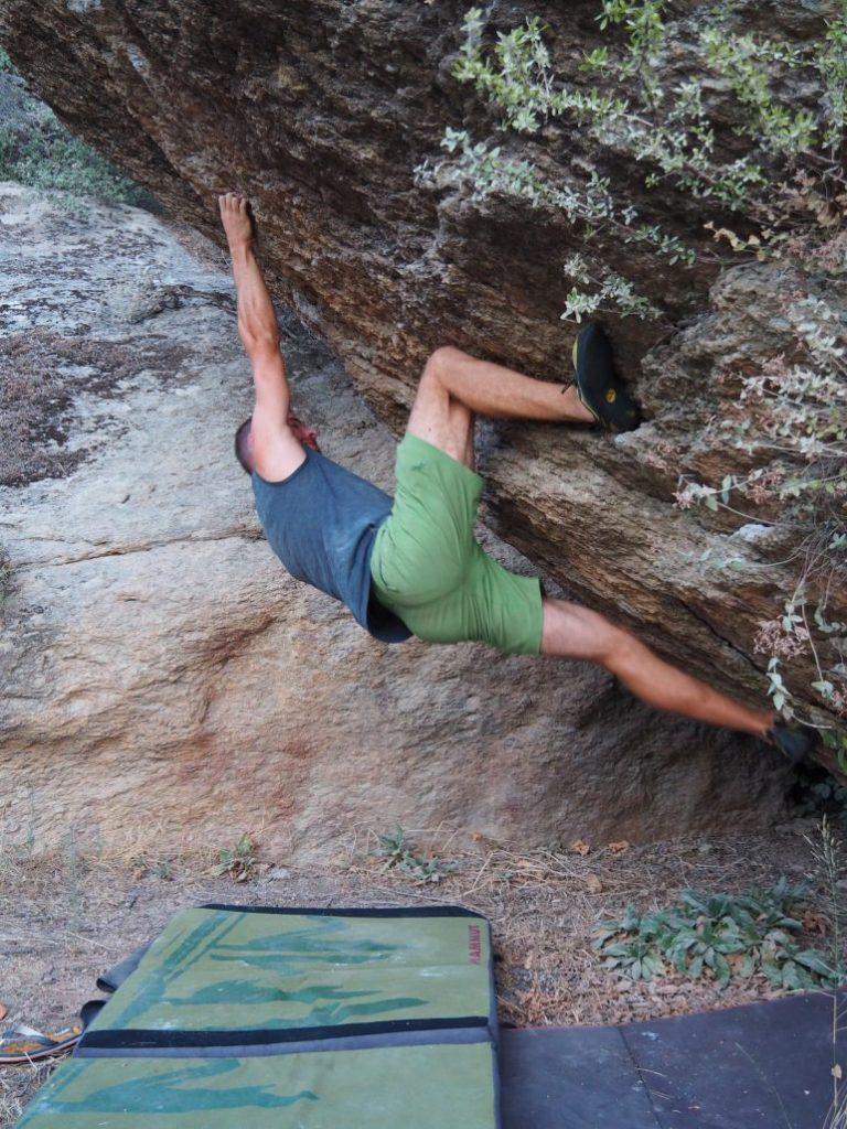 Bafa Bouldering Sari Akrep 7a