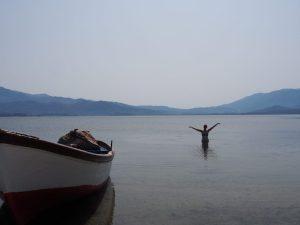 swimming lake bafa