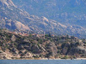 Kapikiri as seen from Lake Bafa