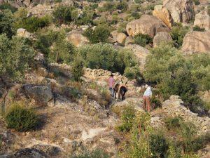 Donkey paths Besparmak