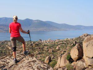 Besparmak hike lake bafa